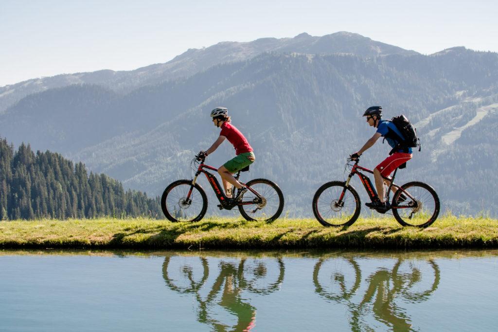 Wagrainblick - Sommerurlaub Mountainbiken